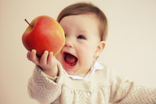 фрукты в рационе ребенка
