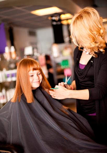 поход в парикмахерскую с детьми